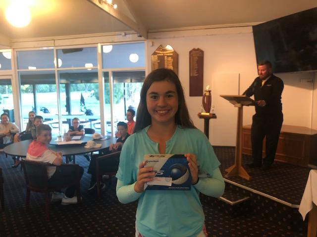 Isabella Leniartek MLGC Nett Winner