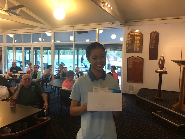 Valerie Khuu MLGC Gross winner 77