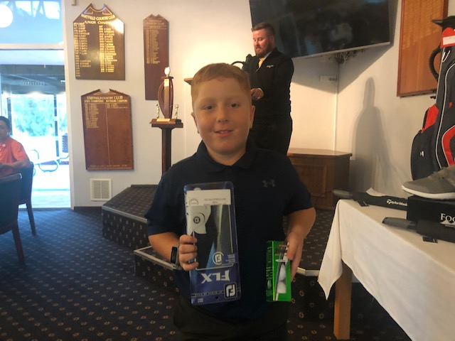 The pocket Rocket Lucas Beagley RGC 37 points - not bad for a 9 YO