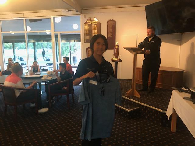 Stableford Winner Sola Tanaka WGC 39 pts