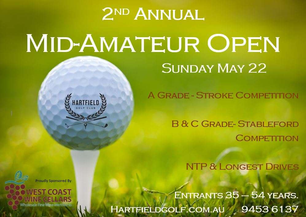 2nd Annual Mid-Amateur Open
