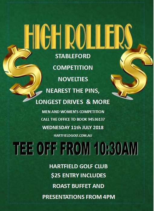 HARTFIELD HIGH ROLLERS