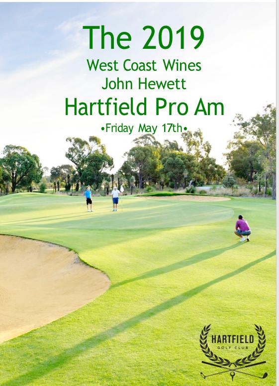 2019 West Coast Wines & John Hewett HCC Pro Am - Friday 17th May - Amo Results