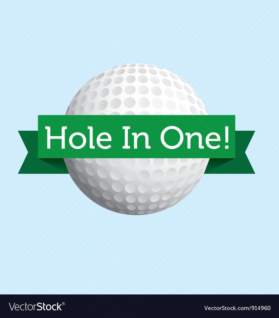 Hole in One :)